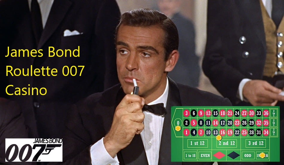 James Bond Roulette 007 Casino